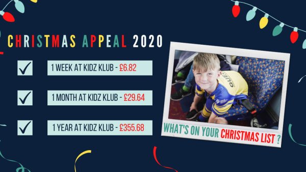 Christmas Appeal 2020
